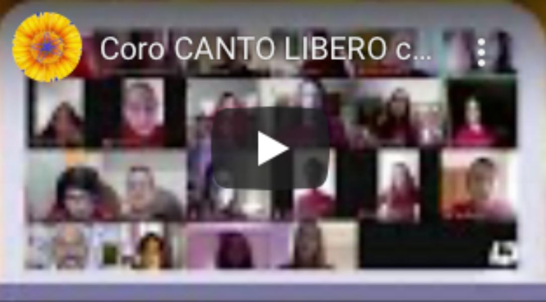 Coro CANTO LIBERO a Quarto Canale Flegreo con L...