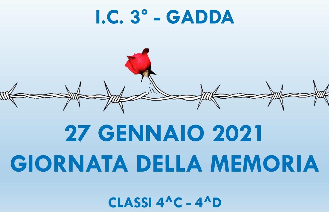 Giornaa della Memoria 4C 4D sc. primaria