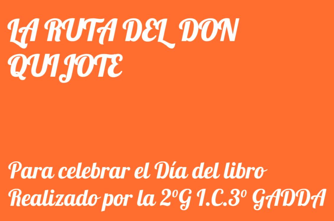 El Día Internacional del Libro 2G sc. secondaria