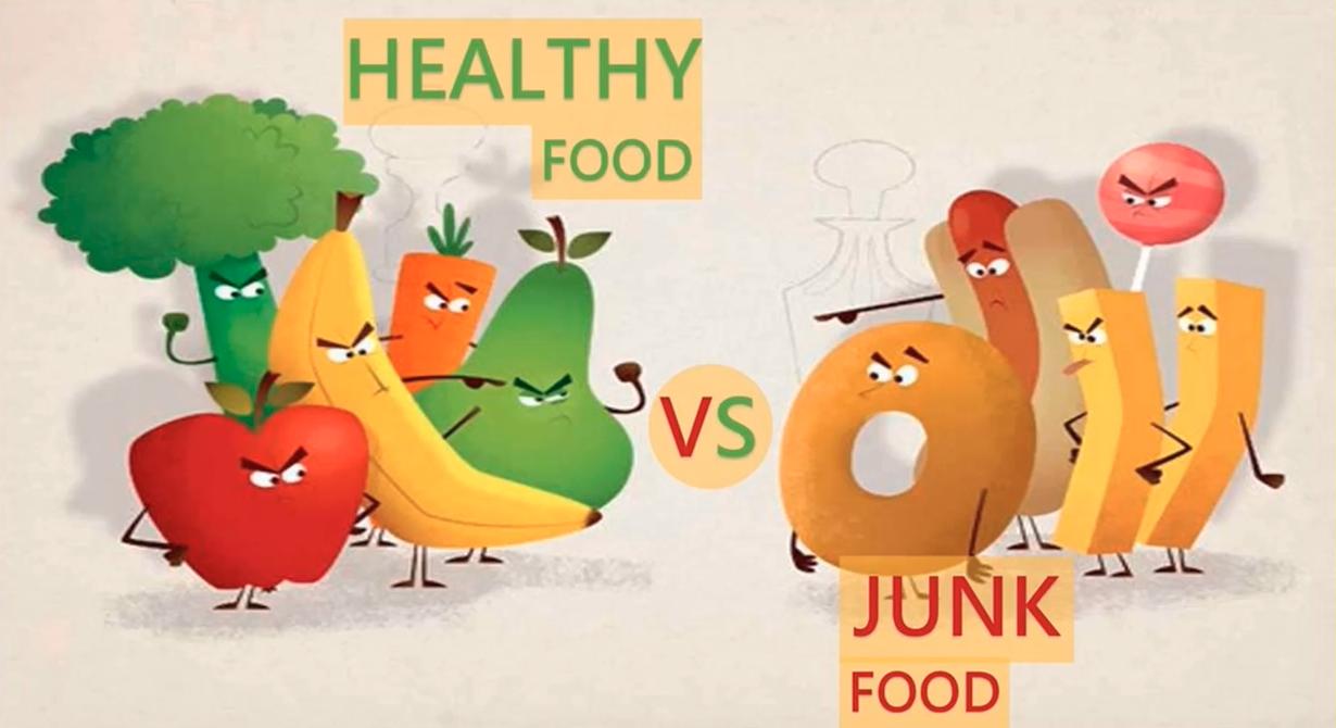 Progetto CIDI Healthy food vs Junk food
