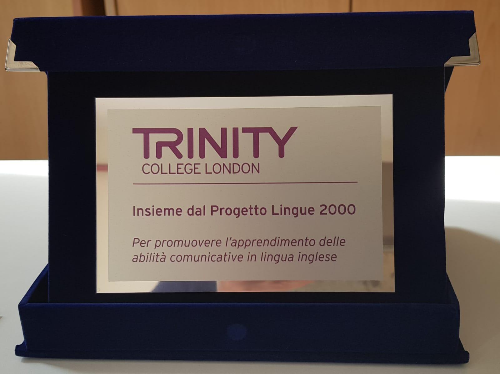 Riconoscimenti dal Trinity College