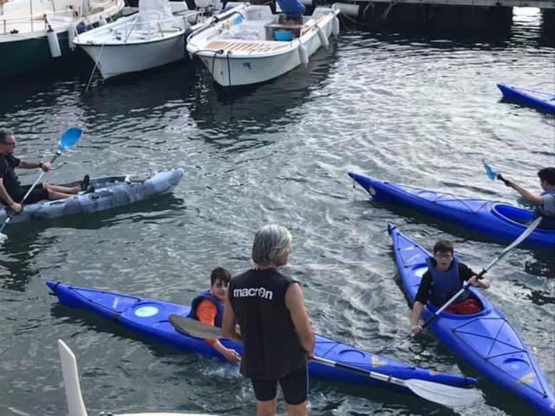 Corso di canoa Progetto VELA