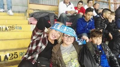 la scuola allo stadio dinamo kiev